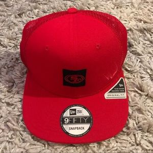New Era Red 9FIFTY San Francisco 49ers Hat